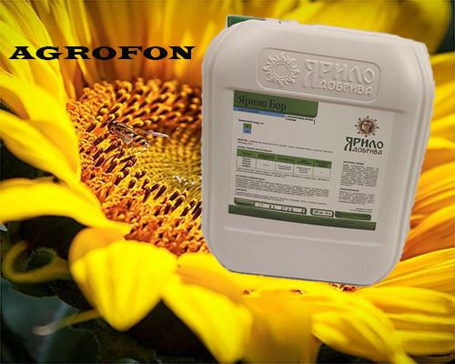 Удобрение Ярило-Бор, удобрения под подсолнечник, стимулятор роста подсолнечника, микроудобрения для подсолнуха, бор для подсолнечника, подкормка подсолнечника бором